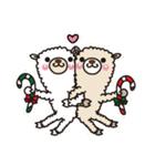 アルパカさんのクリスマスパーティー(個別スタンプ:23)