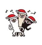 アルパカさんのクリスマスパーティー(個別スタンプ:24)