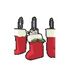 クリスマスしまねこスタンプ(個別スタンプ:07)