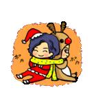 ぽけーっと男子~クリスマス&お正月編(個別スタンプ:17)