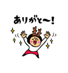 トモダチトークスタンプ【クリスマス編】(個別スタンプ:11)