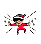 トモダチトークスタンプ【クリスマス編】(個別スタンプ:13)