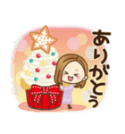 大人女子の日常【Xmas&お正月】(個別スタンプ:07)