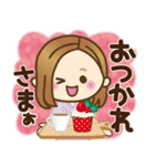 大人女子の日常【Xmas&お正月】(個別スタンプ:09)