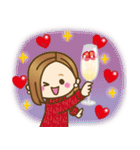 大人女子の日常【Xmas&お正月】(個別スタンプ:20)