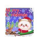 パンダさんのクリスマス&お正月(個別スタンプ:02)