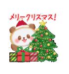 パンダさんのクリスマス&お正月(個別スタンプ:03)