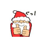 動く!サンタクロース&あけおめ(正月)(個別スタンプ:12)