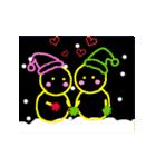 動く!サンタクロース&あけおめ(正月)(個別スタンプ:13)