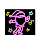 動く!サンタクロース&あけおめ(正月)(個別スタンプ:15)