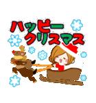♦️大人女子のクリスマス&お正月♦️(個別スタンプ:04)