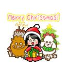 (♪)はまだのクリスマススタンプ(個別スタンプ:01)