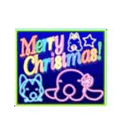 キラキラ光る!クリスマスな犬(個別スタンプ:03)