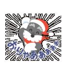 【雪合戦】シュナのつな子 11 冬編(個別スタンプ:02)