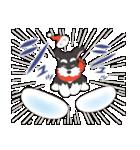 【雪合戦】シュナのつな子 11 冬編(個別スタンプ:15)