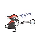 【雪合戦】シュナのつな子 11 冬編(個別スタンプ:16)