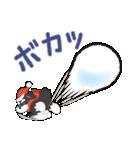 【雪合戦】シュナのつな子 11 冬編(個別スタンプ:22)
