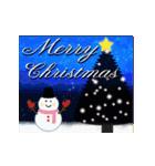 大人のクリスマス~動く~(個別スタンプ:02)