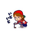 動く!頭文字「フ」女子専用/100%広島女子(個別スタンプ:19)