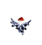 強面ブス天狗 クリスマス爆弾(個別スタンプ:09)
