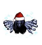 強面ブス天狗 クリスマス爆弾(個別スタンプ:10)