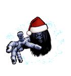 強面ブス天狗 クリスマス爆弾(個別スタンプ:11)