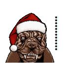強面ブス天狗 クリスマス爆弾(個別スタンプ:40)
