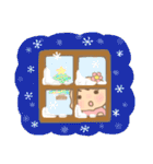 幼い女の子 冬version(個別スタンプ:5)