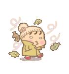 幼い女の子 冬version(個別スタンプ:21)