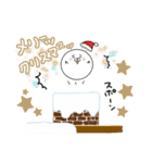 こまるのクリスマス&冬 2(個別スタンプ:4)