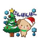 子犬のメリークリスマス&お正月!(個別スタンプ:02)