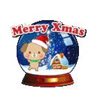 子犬のメリークリスマス&お正月!(個別スタンプ:05)
