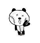 ボロボロパンダさん(個別スタンプ:01)