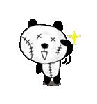 ボロボロパンダさん(個別スタンプ:02)