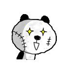 ボロボロパンダさん(個別スタンプ:03)