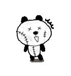 ボロボロパンダさん(個別スタンプ:04)