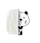 ボロボロパンダさん(個別スタンプ:08)