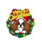 ラブとすてきなクリスマス(キャバリア)(個別スタンプ:1)