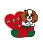 ラブとすてきなクリスマス(キャバリア)(個別スタンプ:05)