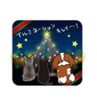 ラブとすてきなクリスマス(キャバリア)(個別スタンプ:7)