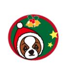 ラブとすてきなクリスマス(キャバリア)(個別スタンプ:10)