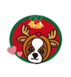 ラブとすてきなクリスマス(キャバリア)(個別スタンプ:11)
