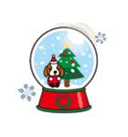 ラブとすてきなクリスマス(キャバリア)(個別スタンプ:15)