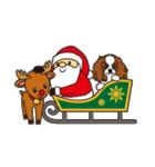 ラブとすてきなクリスマス(キャバリア)(個別スタンプ:17)