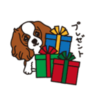 ラブとすてきなクリスマス(キャバリア)(個別スタンプ:18)