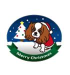 ラブとすてきなクリスマス(キャバリア)(個別スタンプ:20)