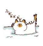 ねこ と 冬 と ときどき いっぬ(個別スタンプ:14)