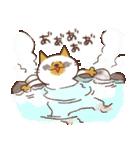 ねこ と 冬 と ときどき いっぬ(個別スタンプ:28)