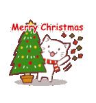 クリスマス色の猫たち(個別スタンプ:01)