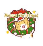 クリスマス色の猫たち(個別スタンプ:03)